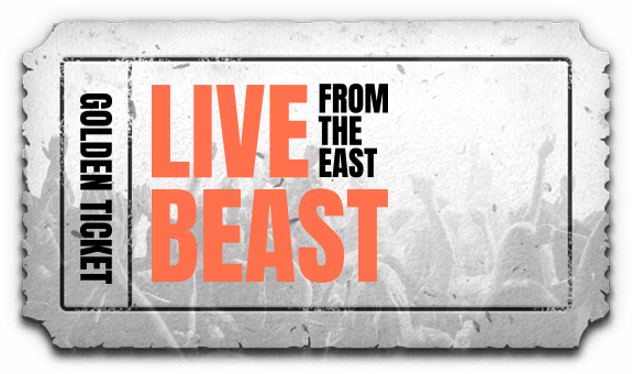 Live Beast From The East | Golden ticket
